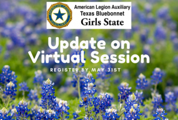 Girl State Virtual Session Deadline May 31st