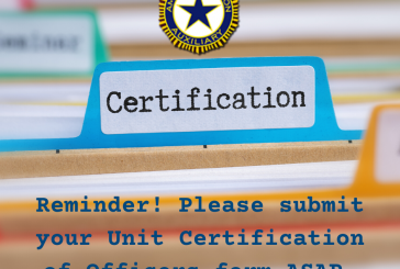 Unit Certification of Officers