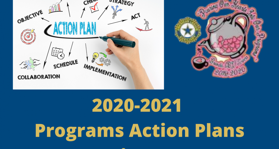 2020-2021 Programs Action Plans Coming Soon