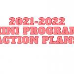 2021-2022 Mini Program Action Plans